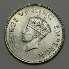 1941 India/British Silver One Rupee Coin #153843JR