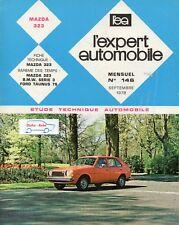 Revue Technique Automobile - Mazda 323 - N° 146 - Septembre 1978 - 142 pages