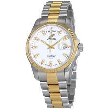 Enicar Prestige White Dial Mens Two Tone Watch 3169/50/330G