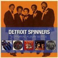 """THE SPINNERS """"ORIGINAL ALBUM SERIES"""" 5 CD NEU"""