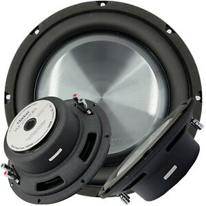 """Clarion WF2520D 1000 Watts Max 10"""" Dual 4-Ohm Voice Coil Shallow-Mount Subwoofer"""