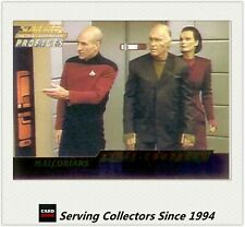 STAR TREK THE NEXT GENERATION PROFILE CARD SERIES FIRST CONTACT SUBSET F5