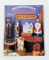Decorating with Folk Art by Faith Rollins 1992 Plaid #8764 Painting Holidays
