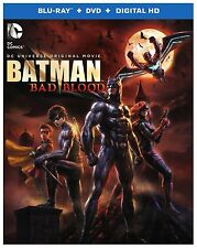 BATMAN :BAD BLOOD (DC Animated Motion Picture)  Blu Ray - Sealed Region free