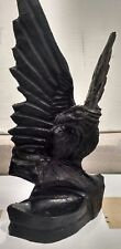 American Eagle Crafted From Coal Figurine