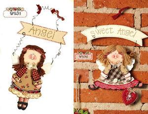 My Doll - my country  Targa Decorazioni di natale Angelo in legno  WU012 WU012