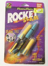 Vintage 1998 Toy BAN DAI Power Penz Rocket Slam with 3 Rockets & Pen Yes Gear