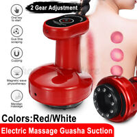 2 Levels Electric Cupping Massage Guasha Suction Heating Scraping Massager Body