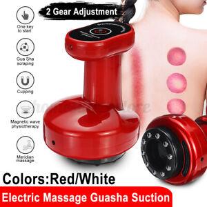 Electric Suction Vacuum Cupping Massager Guasha Scraping Body Slimming Machine