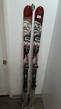 K2 Twin tip skis with bindings marker AT size 185 cm