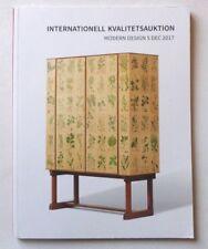 Modern Design 2017 SWEDISH AUCTION CATALOGUE Josef Frank, Axel Salto, Friberg