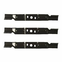 Set Of 3 Genuine OEM Husqvarna Lawn Mower Revolution Bagger Blades 581101101