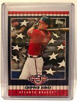 2008 Topps Opening Day Atlanta Braves ChipperJones Baseball Card #FC-CJ NM/MT.