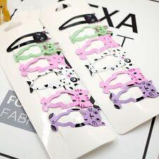 6pcs Animal Infant Hairpin Girls Hair Clip Kids Headwear Hair Barrette Kit