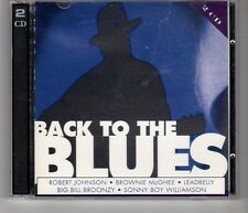 (HH926) Back to the Blues, 40 tracks various artists - 1996 double CD
