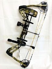 Diamond by Bowtech Infinite Edge SB-1 Camo Left Hand RAK Package-7-70# 15-30""