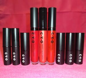 New BOOTS CYO Mega Red Lip Bundle RRP £43 Plumping Gloss Matte Lipstick Gift Set