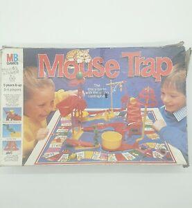 Mouse Trap Board Game 1986 Big Box Version Vintage MB Games