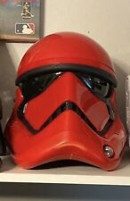 Star Wars The Black Series Galaxy's Edge Captain Cardinal Helmet *DAMAGED BOX*