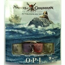 OPI Pirates of the Carribean Mini Nail Lacquer Set