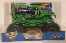 """Hot Wheels Monster Jam 2016 """" GREEN GRAVE DIGGER """" 1:24 Monster Truck"""