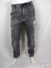 DIESEL KROOLEY-NE 0885b STRETCH SWEAT PANTS JOGGER DISTRESSED PANTS Jeans 38