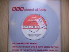 "BBC Sound Effects 7"" Record - Diesel Electric Train, English Vulcan, 2000 BHP"