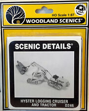 HO/HOn3 Scale Woodland Scenics 'Hyster Logging Cruiser Tractor' KIT, Item #D246