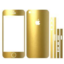 22 FAR. IPHONE 5 FOLIE GOLD METALLIC MATT ( BUMPER COVER HÜLLE SCHALE SKIN CASE