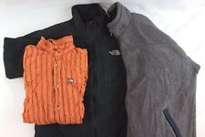 The North Face Patagonia Lot of 3 Men's Fleece Jackets/Shirt Large L [AH12432]