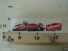 STICKER,DECAL HOLLYWOOD SIDECAR RACING NO 3 BROWN,MOTUL,LOOKWELL