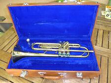 Trompete für Anfänger unbespielt mit Koffer und Mundstück 7c und Trompetenschule