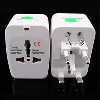 US to EU Europe and Universal AC Power Plug World Travel Adapter Converter KY