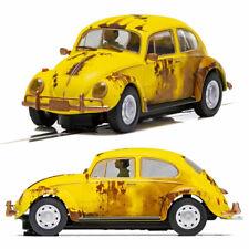 SCALEXTRIC Slot Car C4045 Volkwagen Beetle - Rusty Yellow