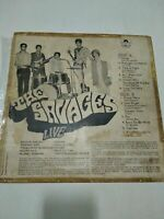 THE SAVAGES Live 60s garage/psych/fuzz INDIA orig. LP Simla Beat stable G+