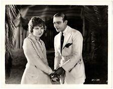 THE SHEIK (1921) Rudolph Valentino & Agnes Ayres Outside Their Desert Oasis 8x10