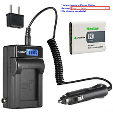 Kastar Battery LCD AC Charger for Sony NP-BK1 BC-CSK Sony Cyber-shot DSC-W370