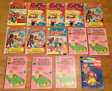 ARCHIE/HARVEY 14BK LOT Betty&Me,Pep,Richie Rich Jackpots,Raggedy Ann&Andy#1 NICE
