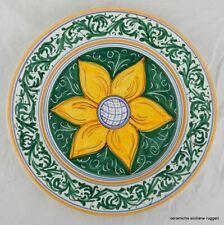 Ceramiche Siciliane Ruggeri - Piatto d'autore da muro - Costanza d'Altavilla