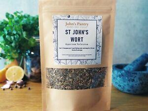 St Johns Wort Herb (Hypericum perforatum) St John's Wort Tea Dziurawiec 30-100g