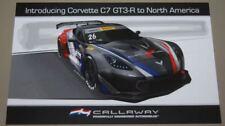 2018 Callaway Competition Corvette C7 GT3.R GT PWC postcard