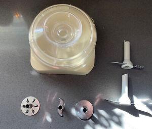 Bamix Processor Bowl And Blades