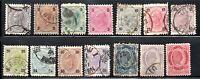 JL Austria Stamp # 51-64 USED (64 MH)!!!! A75