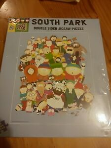 New in plastic rare South Park Kenny Double Sided Jigsaw Puzzle 1000 piece 1999