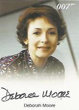 """James Bond Archives Final: Deborah Moore """"Flight Attendant"""" Autograph Card"""