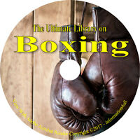 35 Books on CD, Ultimate Library on Boxing, Self Defense, Train, History