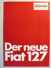 PROSPEKT-il nuovo FIAT 127 L/CL, 12.1977, 16 pagine