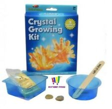 CRYSTAL GROWING KIT WORLD OF SCIENCE KIDS EDUCATIONAL SET FUN GIFT NEW