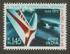 India 1973 #582 Air India, 25 years of International Service - MNH