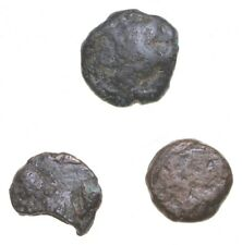 Lot of 3 Authentic Roman Ancient Coins Collection 1500 years old! Historic *428
